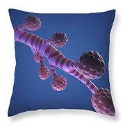 Bronchioles Throw Pillow