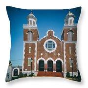 Brown Chapel In Selma Alabama Throw Pillow