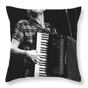 Bruce Hornsby Throw Pillow