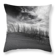Bruneau Dunes State Park Idaho Throw Pillow