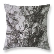 bSeter Elyion 26 Throw Pillow by David Baruch Wolk
