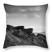 Buckstone Edge Throw Pillow