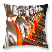 Buddhas Throw Pillow