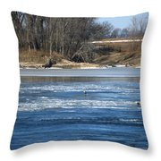 Bunches Of Eagles Throw Pillow