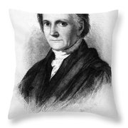 Bushrod Washington (1762-1829) Throw Pillow