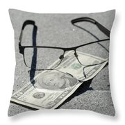 Business Concept Throw Pillow