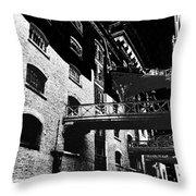 Butlers Wharf Art Throw Pillow
