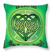Byrne Soul Of Ireland Throw Pillow