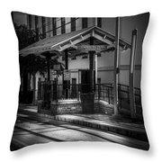 Cadrecha Plaza Station Throw Pillow