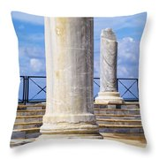 Caesarea Maritima Throw Pillow