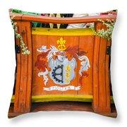 Cafe Decor - Tallin Estonia Throw Pillow