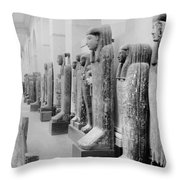 Cairo Egyptian Mummies Throw Pillow