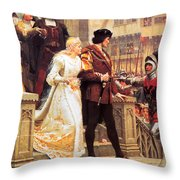 Call To Arms Throw Pillow