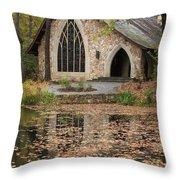 Callaway Gardens Chapel-pine Mountain Georgia Throw Pillow