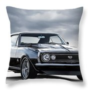 Camaro Ss Throw Pillow