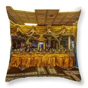 Cambodian Buddist Temple Throw Pillow