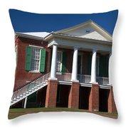 Camden County Courthouse Throw Pillow