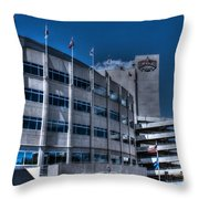Camp Randall Stadium Throw Pillow