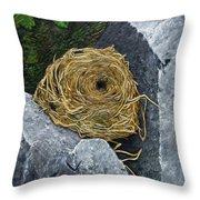 Campagnol Nest Throw Pillow