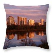 Canada, Saskatchewan, Saskatoon Throw Pillow