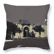 Canutillo Hacienda As Given To Pancho Villa  C.1920-2013 Throw Pillow