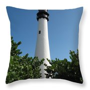 Cape Florida Light Throw Pillow