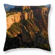 Cape Royal Glow Throw Pillow