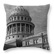 Capitol At Dawn Throw Pillow