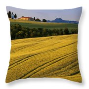Cappella Di Vitaleta Throw Pillow