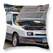 Car Show 043 Throw Pillow