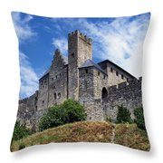 Carcassonne By Day Throw Pillow