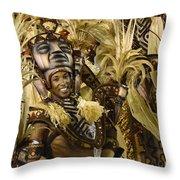 Carnival Rio De Janeiro 30 Throw Pillow