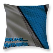 Carolina Panthers Uniform Throw Pillow