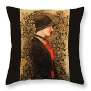 Cat In The Hat Throw Pillow