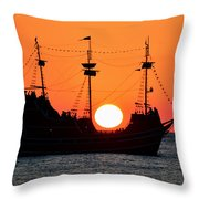 Catching The Sun Throw Pillow by David Lee Thompson