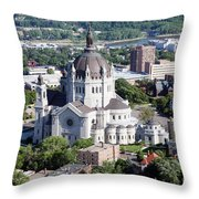 Cathedral Of St. Paul Throw Pillow