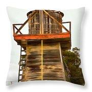 Cayucos Wind Farm Throw Pillow