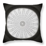 Ceiling Dome Throw Pillow