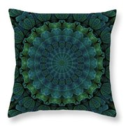 Celtic Corrugation Throw Pillow