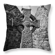 Celtic Cross I Throw Pillow