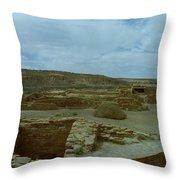 Chaco Canyon Throw Pillow