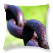 Chain Throw Pillow