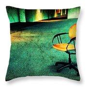 Chair2 Throw Pillow