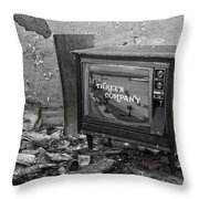 Channel Three  Throw Pillow