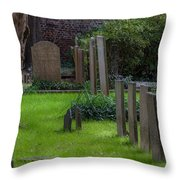 Charleston Graveyard Throw Pillow