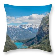 Chateau Lake Louise - Banff National Park - Canada Throw Pillow