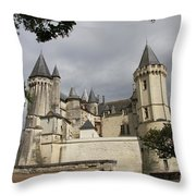 Chateau Saumur  Throw Pillow