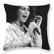 Cher Throw Pillow