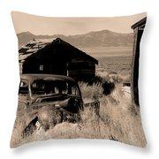 Cherry Creek   Nevada Throw Pillow