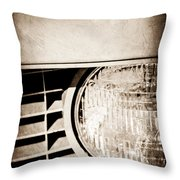 Chevrolet Camaro Headlight Emblem Throw Pillow